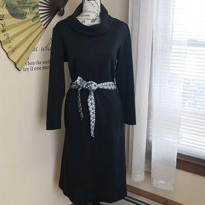 Vintage 1970s cowl neck Butte Knit Dress